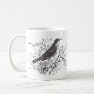 nightingale classic white coffee mug