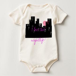 Nightlife Baby Bodysuit