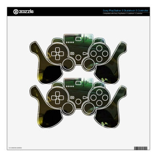 Nightlife Limo Drive View Paris France Europe Gift Decal For PS3 Controller