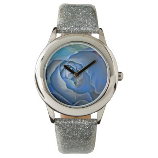 Nightlife of the Blue Rose Wristwatch