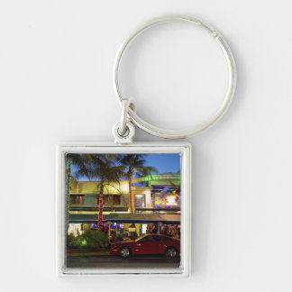 Nightlife on Ocean Drive, South Beach, Miami Key Chains