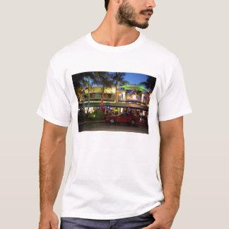 Nightlife on Ocean Drive, South Beach, Miami T-Shirt