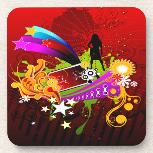 Nightlife Party Time Coasters