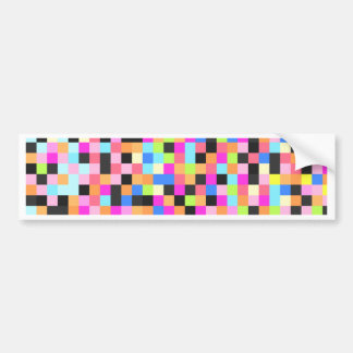 Nightlife (pixel funk) bumper sticker