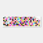 Nightlife (pixel funk) car bumper sticker