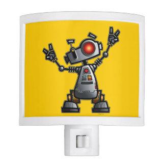 """Nightlight de """"Diz"""" del robot Luces De Noche"""