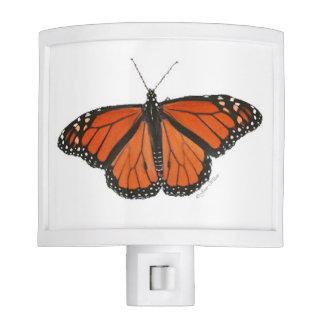 Nightlight de la mariposa de monarca lámparas de noche
