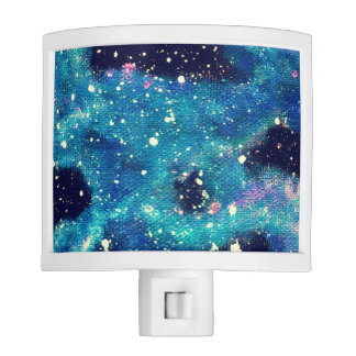 Nightlight del espacio de la nebulosa del trullo luz de noche