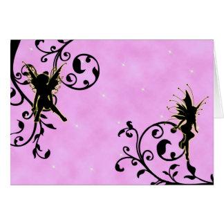 Nightlight Fairy Fantasy Thank You card