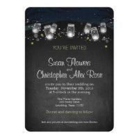 Nightlights (backyard wedding) Invitation