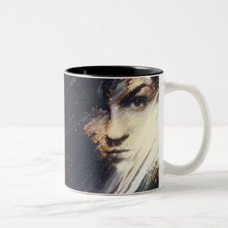 Nightlights Two-Tone Coffee Mug