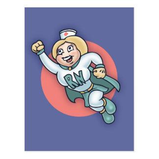 Nightly Nurse! Postcard