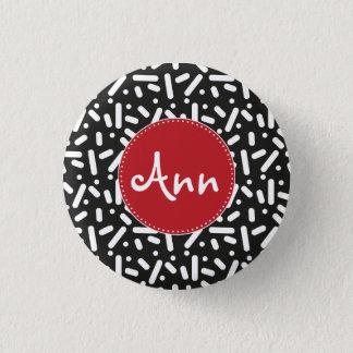 Nightly Snow Pinback Button