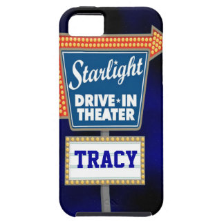 Nightly Stars Drive In Theater iPhone SE/5/5s Case