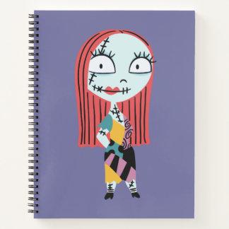 Nightmar Before Christmas   Cute Sally Notebook