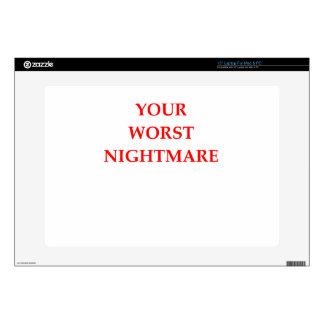 "NIGHTMARE 15"" LAPTOP SKIN"