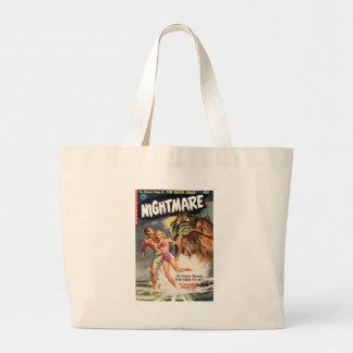 Nightmare #2 jumbo tote bag