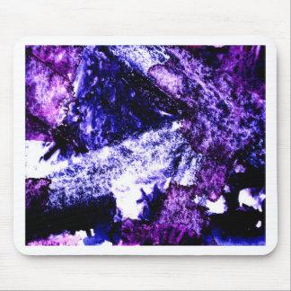 Nightmare abstract purple black design mousemats