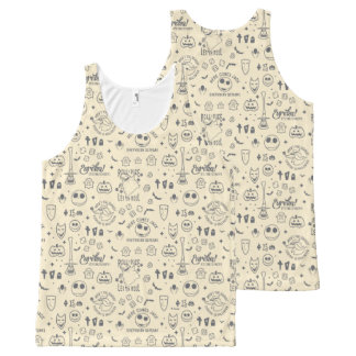 Nightmare Before Christmas | Everyday Is Halloween All-Over-Print Tank Top