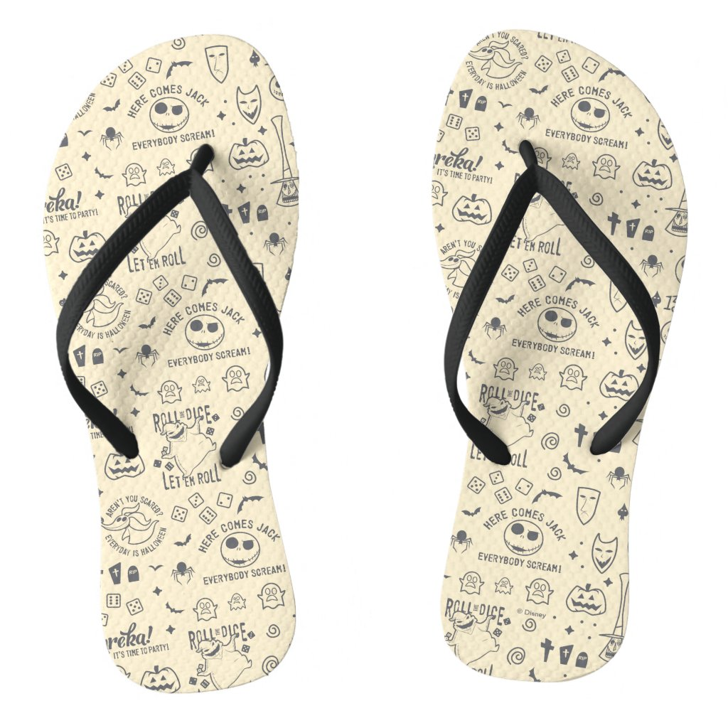 Nightmare Before Christmas | Everyday Is Halloween Flip Flops