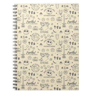 Nightmare Before Christmas   Everyday Is Halloween Notebook