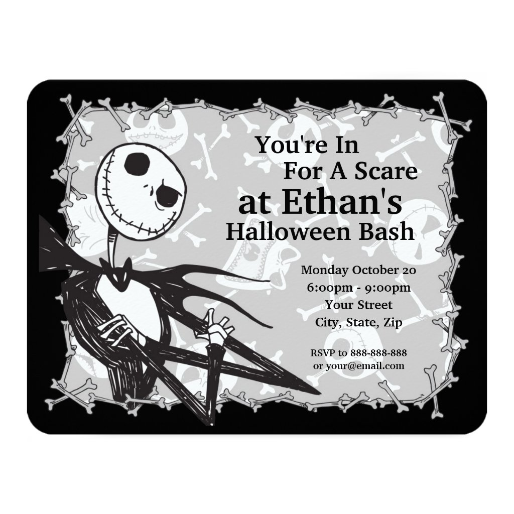 Nightmare Before Christmas Halloween Party