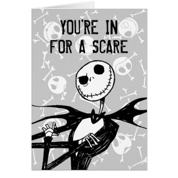Disney Themed Nightmare Before Christmas Halloween Party Card