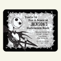 Nightmare Before Christmas Halloween Party Invitation