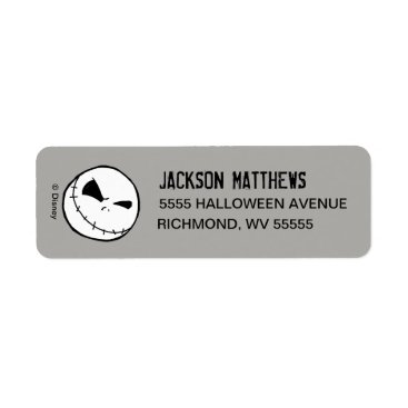 Disney Themed Nightmare Before Christmas Halloween Party Label