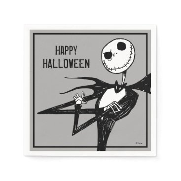 Disney Themed Nightmare Before Christmas Halloween Party Napkin