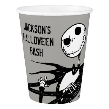 Disney Themed Nightmare Before Christmas Halloween Party Paper Cup