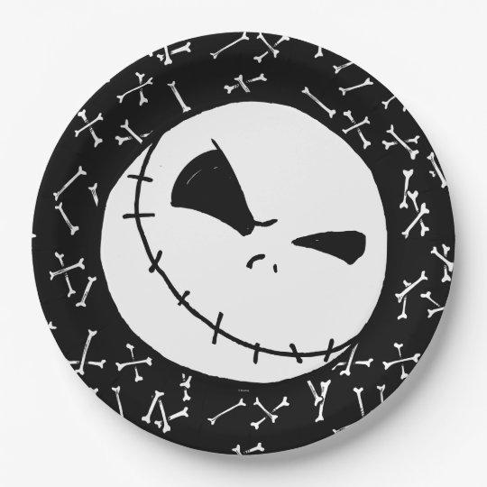 Nightmare Before Christmas Halloween Party Paper Plate  sc 1 st  Zazzle & Nightmare Before Christmas Halloween Party Paper Plate | Zazzle.com
