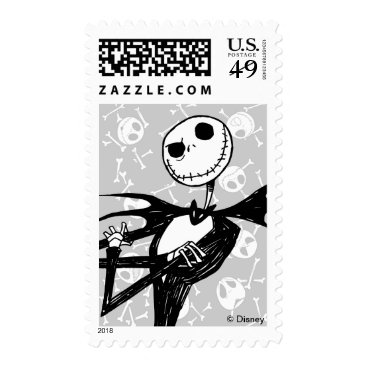 Disney Themed Nightmare Before Christmas Halloween Party Postage