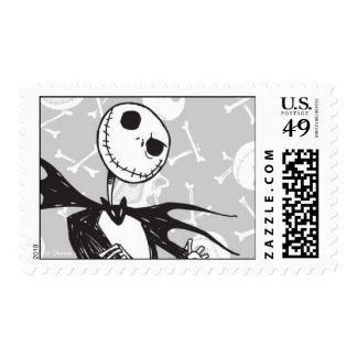Nightmare Before Christmas Halloween Stamp