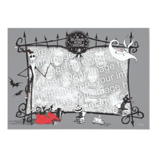 """Nightmare Before Christmas Holiday Card 5"""" X 7"""" Invitation Card"""