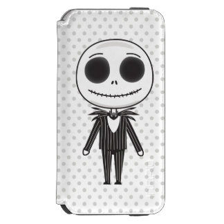 Nightmare Before Christmas | Jack Emoji iPhone 6/6s Wallet Case