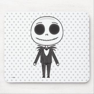 Nightmare Before Christmas   Jack Emoji Mouse Pad