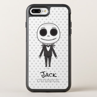 Nightmare Before Christmas | Jack Emoji OtterBox Symmetry iPhone 7 Plus Case