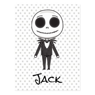 Nightmare Before Christmas | Jack Emoji Postcard