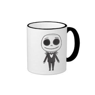 Nightmare Before Christmas | Jack Emoji Ringer Mug