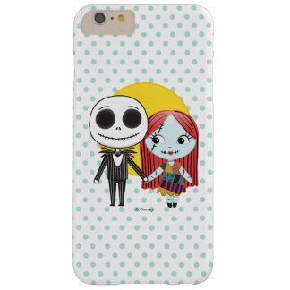 Nightmare Before Christmas | Jack & Sally Emoji Barely There iPhone 6 Plus Case