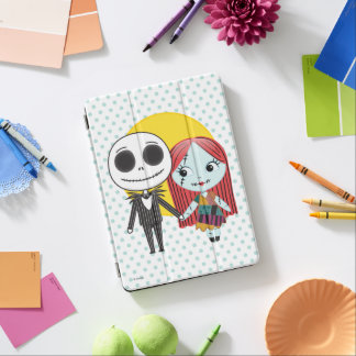 Nightmare Before Christmas | Jack & Sally Emoji iPad Air Cover