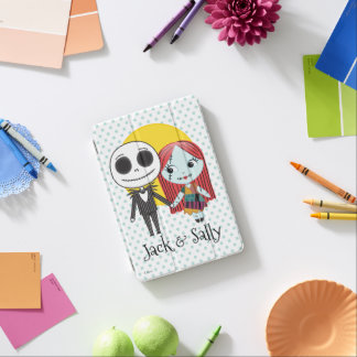 Nightmare Before Christmas | Jack & Sally Emoji iPad Mini Cover