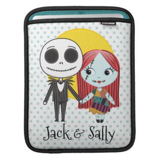 Nightmare Before Christmas | Jack & Sally Emoji iPad Sleeve