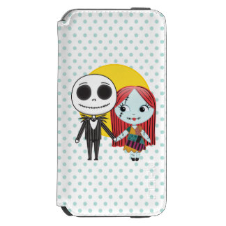 Nightmare Before Christmas | Jack & Sally Emoji iPhone 6/6s Wallet Case