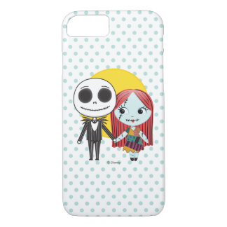 Nightmare Before Christmas | Jack & Sally Emoji iPhone 8/7 Case