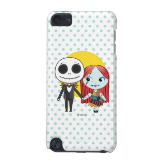 Nightmare Before Christmas | Jack & Sally Emoji iPod Touch (5th Generation) Cover