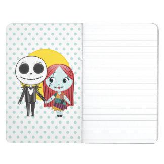 Nightmare Before Christmas | Jack & Sally Emoji Journal