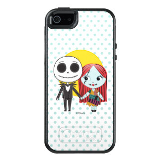 Nightmare Before Christmas | Jack & Sally Emoji OtterBox iPhone 5/5s/SE Case