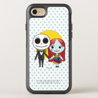 Nightmare Before Christmas | Jack & Sally Emoji OtterBox Symmetry iPhone 7 Case